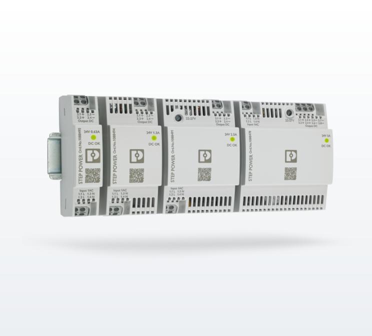 Источники питания Phoenix Contact STEP power для автоматизации зданий